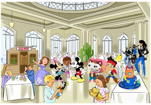 Disney Event Illustration
