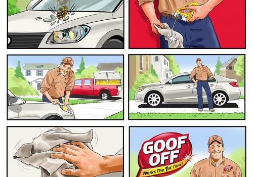 Goof Off Storyboard