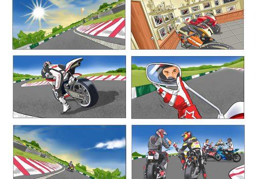 Honda Storyboard