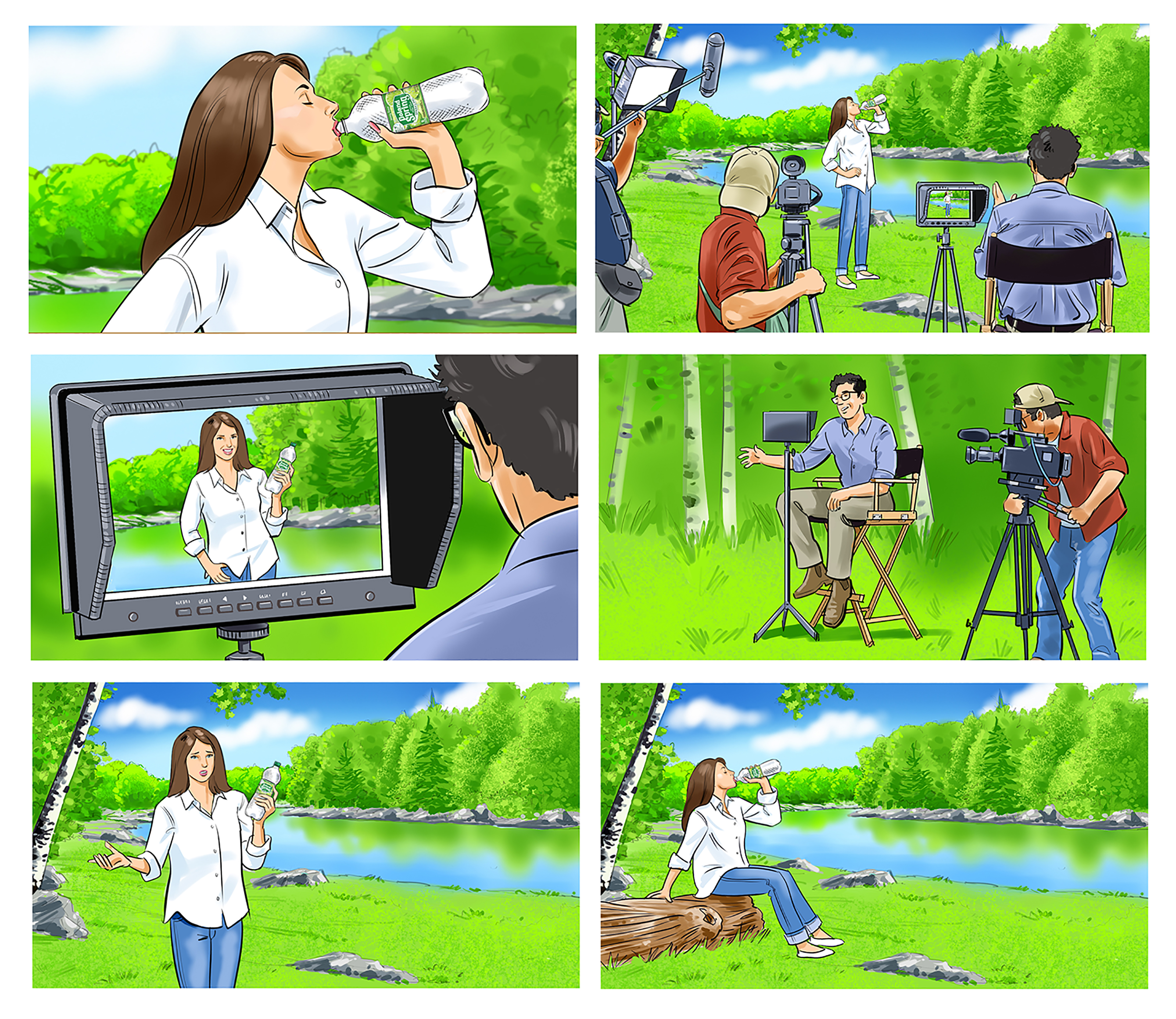 Poland Springs Storyboard
