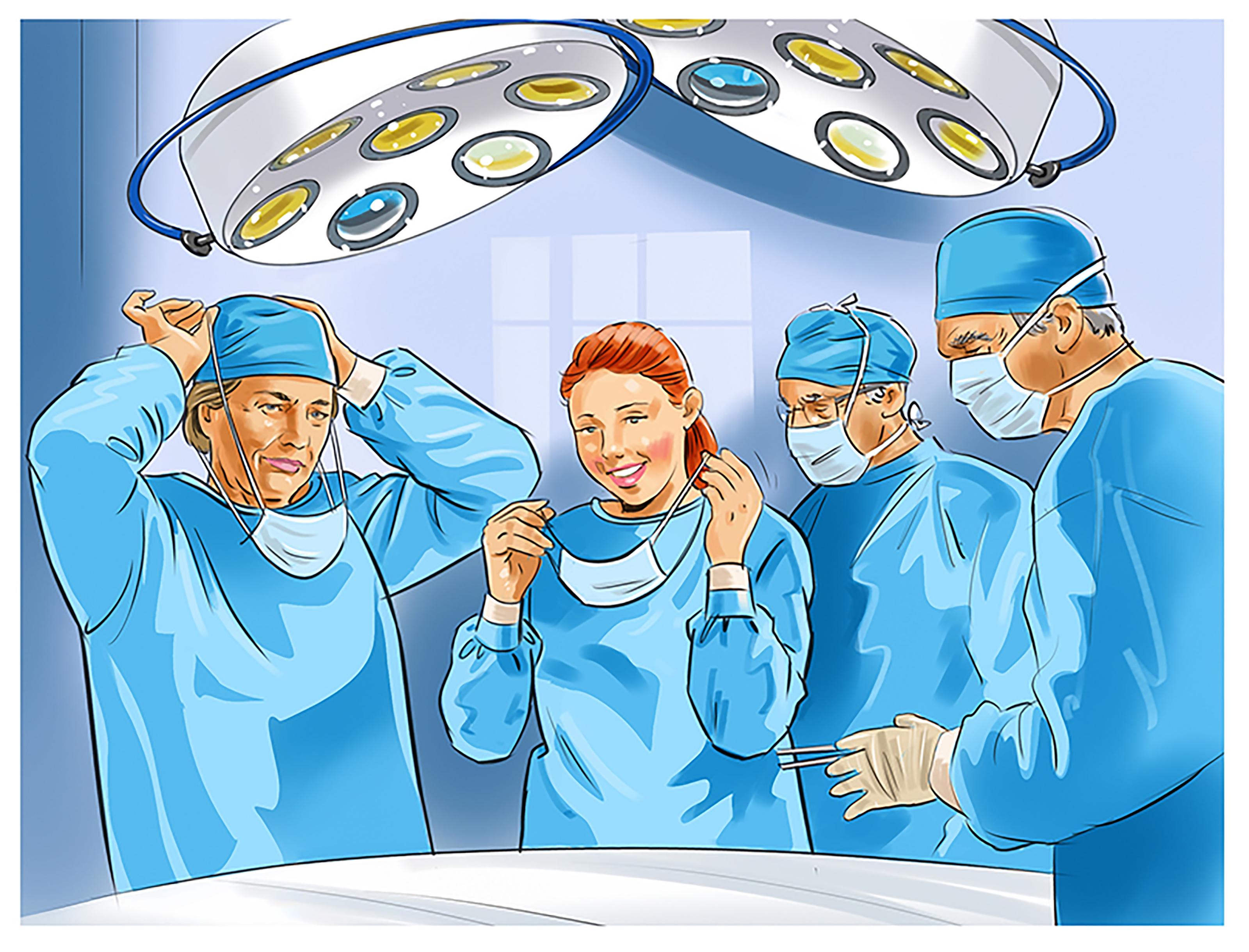 Medical Event Illustration