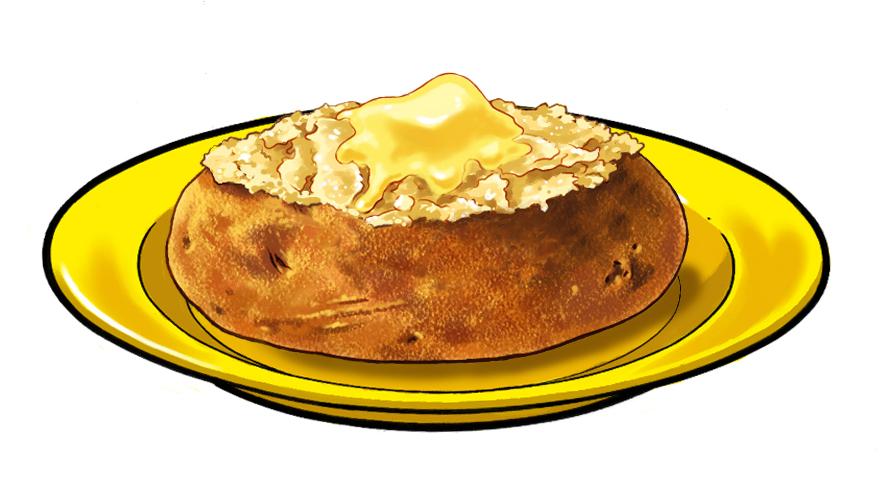 Imperial Buttter on potato