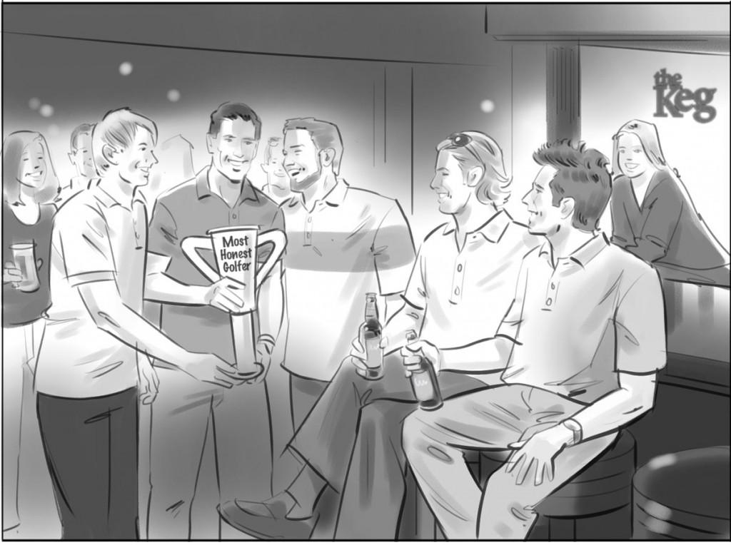 The Keg Illustration 3