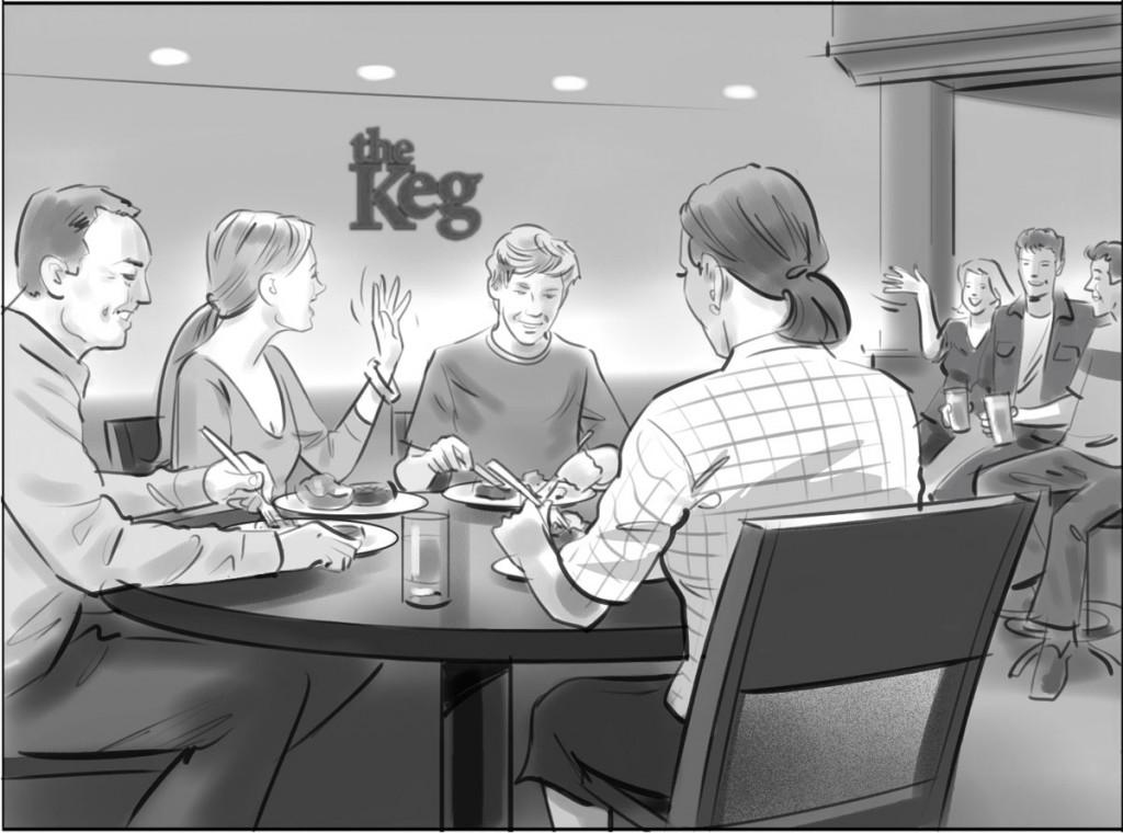 The Keg Illustration 2